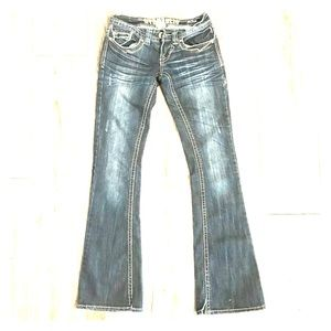 {{Hydraulic}} women sz1-2W24 Bailey slim boot cut
